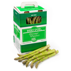 7.5 lbs Jumbo Green Asparagus Spears